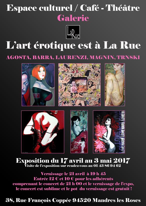 L'art érotique à La Rue ? Rien de vraiment surprenant...