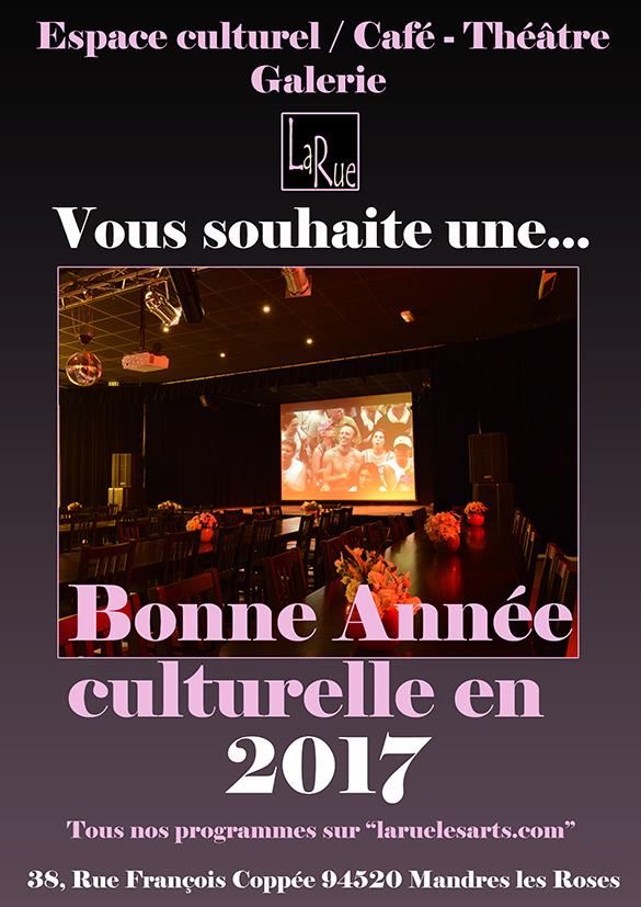 Une bonne année commence à La Rue !