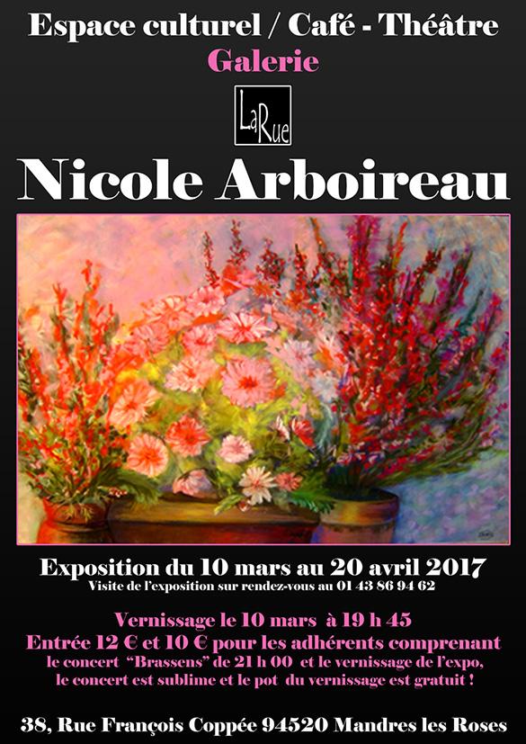 Nicole Arboireau, passion et talent !