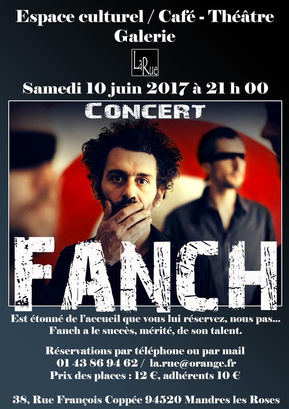 Fanch ? C'est le formidable et dernier concert de la saison.