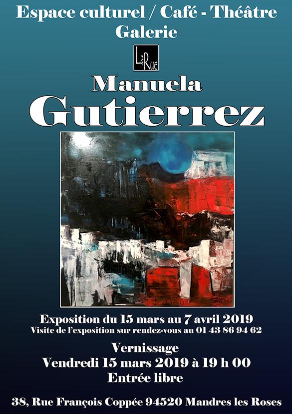 Une superbe exposition de Manuela !