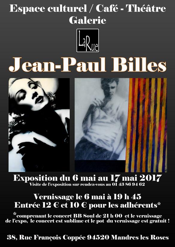 Jean Paul Billes, très original... A voir.