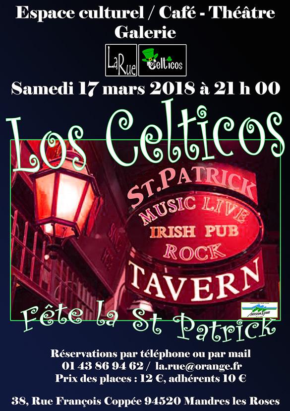 Los Celticos, une soirée à ne pas manquer !