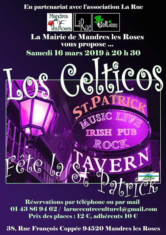 Los Celticos arrivent et... C'est l'Irlande qui est à La Rue !