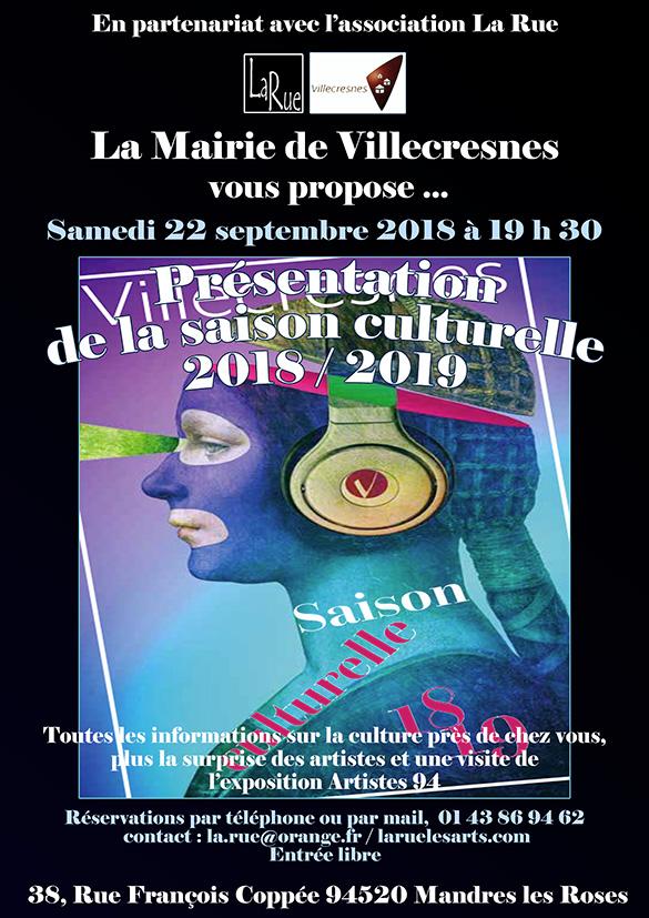 Villecresnes présente sa saison culturelle et ses partenariats