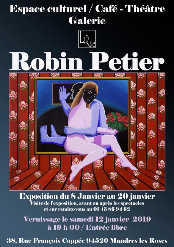 Robin Petier, jeune talent à découvrir...