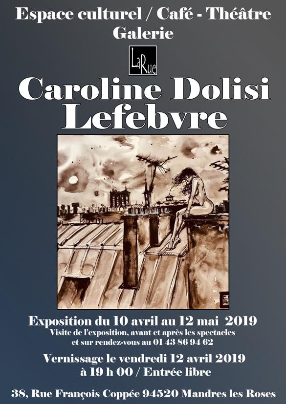 Caroline Dolisi... Erotiquement vôtre !