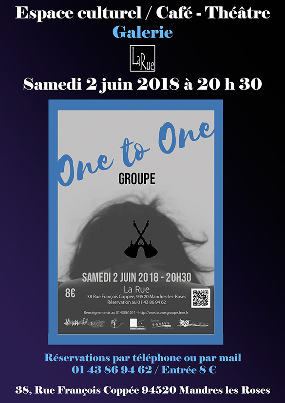 One to one, le fameux concert annuel !
