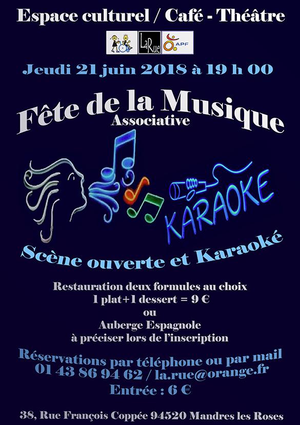 C'est la Fête de la musique, une soirée de folie entre amis et copains !!!