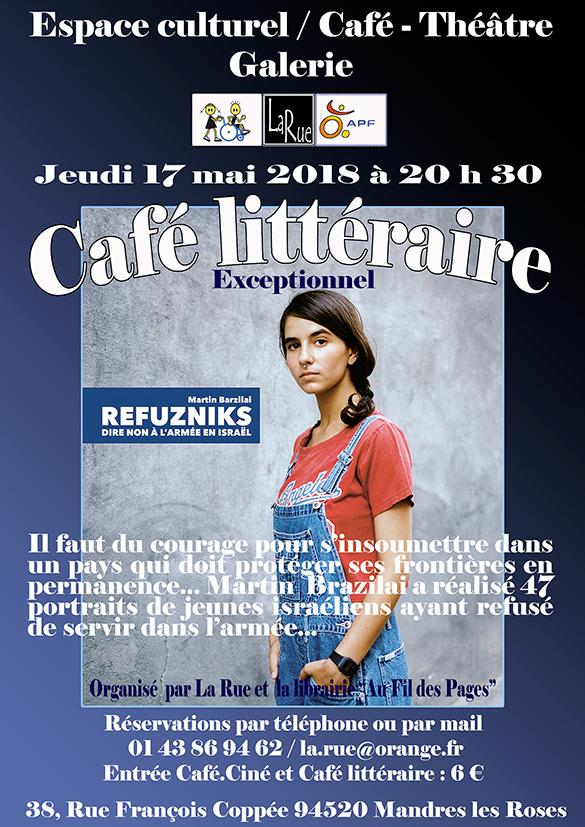 Un seul Café littéraire ? Pourquoi pas celui la ?